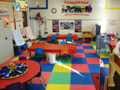 Three's & Four's Preschool Classroom - Free Art Center