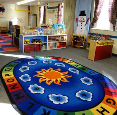 Three's & Four's Preschool Classroom