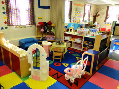 Three's & Four's Preschool Classroom - Home and creative social learning station