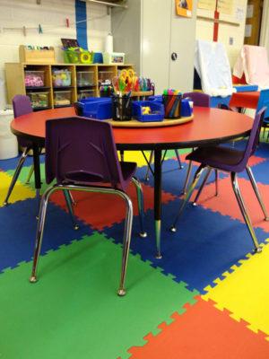 Three's & Four's Preschool Classroom - Free Art Area