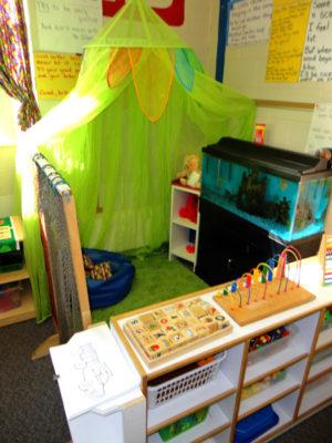 Three's & Four's Preschool Classroom - Quiet Area