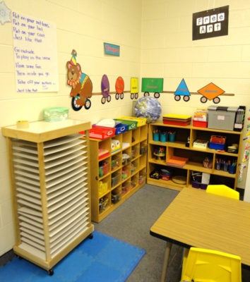 Young Five's Pre-kindergarten Classroom - Free Art Center