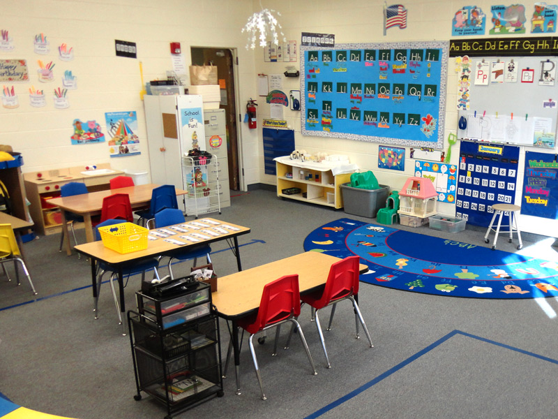 Young Fives Classroom