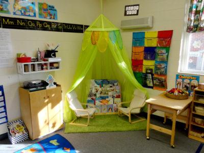 Young Five's Pre-kindergarten Classroom - Quiet Area