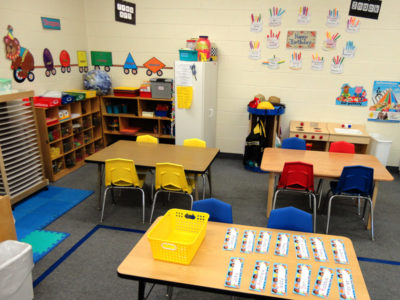 Five's Pre-kindergarten Classroom - Free Art Center