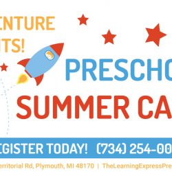 Preschool summer camp in plymouth michigan