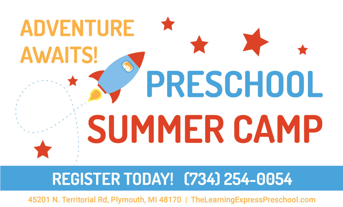 Preschool Summer Camp - The Learning Express Preschool