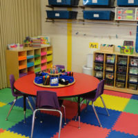 Three's & Four's Preschool Classroom - Free Art Center