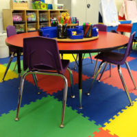 Three's & Four's Preschool Classroom - Free Art Area