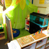 Three's & Four's Preschool Classroom - Quiet Area