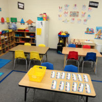 Young Five's Pre-kindergarten Classroom - Free Art Center