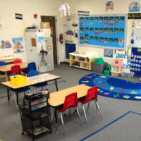 Young Five's Pre-kindergarten Classroom